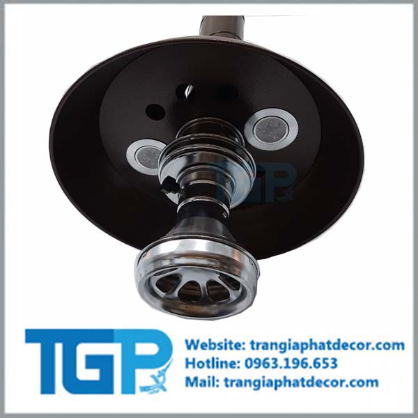 chao đèn - chao đèn gắn trên ống bbq