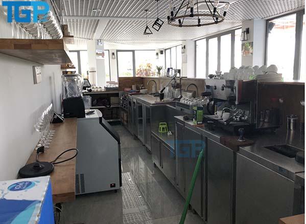 các thiết bị trong bar và cafe