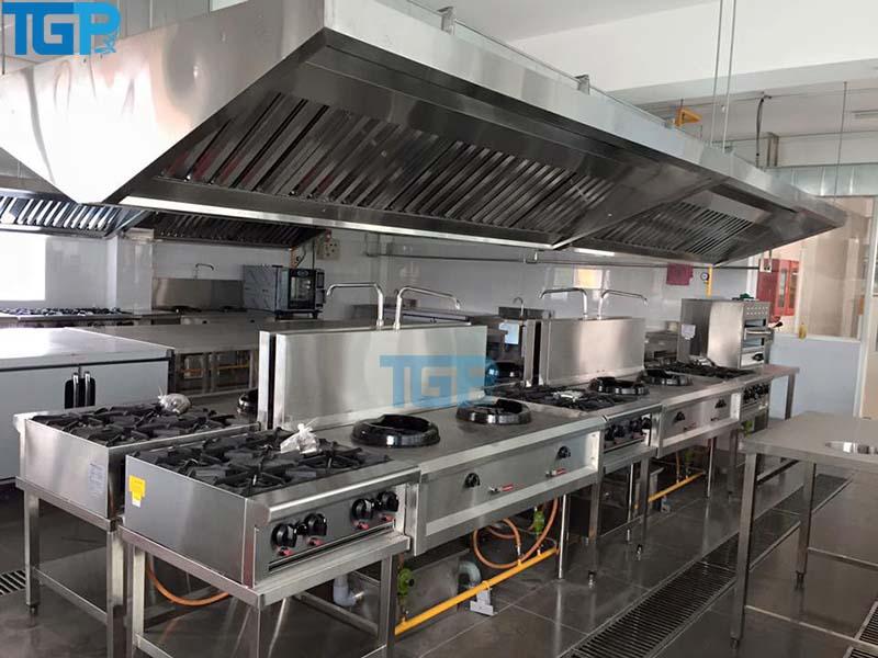 hệ thống bếp công nghiệp cách thức thi công và lắp đặt